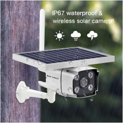 Everexceed 1080P 2MP 4G/WiFiの無線電信及びIP67は太陽屋外の保安用カメラを防水する