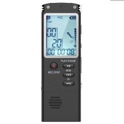 8GB (T60) het Nieuwe Modieuze Professionele StereoRegistreertoestel van de Telefoon van het Registreertoestel van de Stem van de Dictafoon Digitale met MP3 LCD van de Speler Vertoning