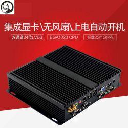 I7-2620m Porta de rede Gigabit com 6 Porta Serial publicidade sem ventoinhas microcomputador Desktop da Máquina Industrial Computer