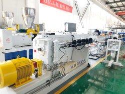 Haute vitesse automatique de l'eau PEHD de plastique PE Câble PPR tuyaux Making Machine d'extrusion de l'extrudeuse