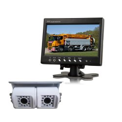 차량 안전 System/7 인치 디지털 LCD 모니터 또는 상어 마운트 Braket 뒷 전망 사진기