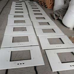 Marbre artificiel et de précoupe personnalisé gravé sur comptoir