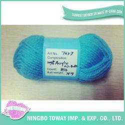 Embarcação de tecelagem de acrílico de lã merino lado tricotar