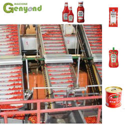 Automatischer halbautomatischer Tomatenkonzentrat-Soße-Tomate-Ketschup