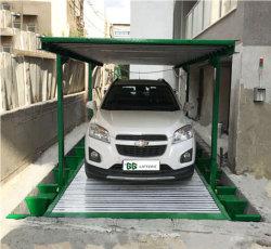 GG levantadores de Camada 2 Mini Metro carro vertical do Elevador Estacionamento/Hidráulico de Estacionamento Automóvel