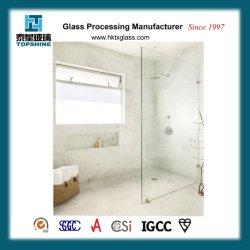 Novo Design em Vidro Temperado Tela de vidro sem caixilho para sala de exposições