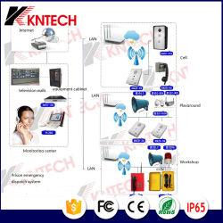 新しいKntechの刑務所の刑務所呼出しシステムWiFi電気通信IP PBX