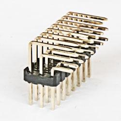 1.27mm/2.0mm/2.54mm Pinまたは女性ヘッダの単一か二重列のまっすぐなか直角/SMTのタイプコネクター