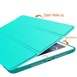 Estojo de couro magnética para iPad 9,7 polegada para iPad 5/ 6 caso de Última Geração