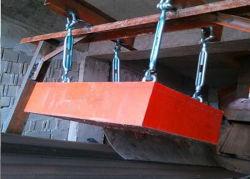 NdFeB aimant suspendu le séparateur de fer magnétique permanent pour la courroie du convoyeur