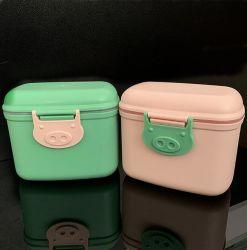 Multifuncional Cómoda caja de leche en polvo para bebés