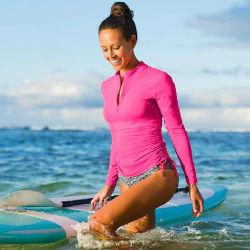 Guardas de rash Mergulho Lycra Neoprene Camisa roupas de surf Surf Personalizada Prensa