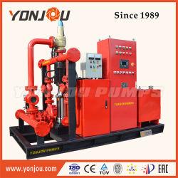 Nfpa20 da extremidade do motor diesel de combate a incêndio de sucção da bomba de água centrífuga