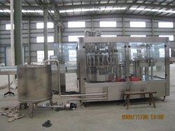 Totalmente de vidro completa rotativo de enchimento de lavagem de máquinas de enchimento para monobloco de nivelamento