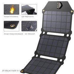 Chargeur solaire avec plus de taux de conversion d'énergie solaire en ETFE multicouche professionnel panneaux solaires à la puissance de sortie et la tension 5v 21W