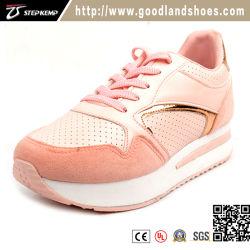 comfortable Pink Healthy Sneaker 형식 숙녀 단화 여자 우연한 단화 (EXI-9155)