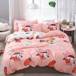 Роскошный 100% хлопок пользовательских печатных одеялом крышку с подушкой случае стеганых матрасов крышку постельные принадлежности для всех размеров