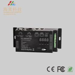Niveau industriel 8A à 5 canaux DMX512 & Rdm décodeur12-24V DC 30kHz