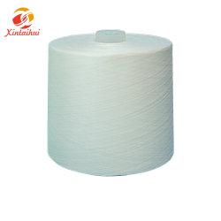 50/2 Draad van de Polyester van het Garen Ruwe Witte Naaiende voor Sportkleding