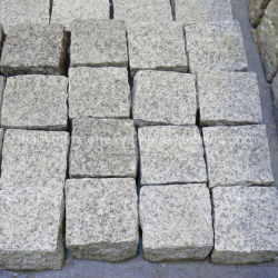 Cobblestone naturale dei lastricatori del granito di spaccatura G603/G654/G682/G664/Grey/White/Black/Beige/Yellow/Red per la strada privata