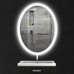 New-Listing hechas en China LED Infinity Mirror espejo del baño