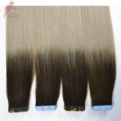 شريط ملون من نوع باليايج أومبر روسي للبيع الساخن في الشعر البشري الرقم الداخلي