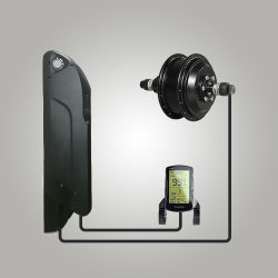 A elevada eficiência 36V 250W Electric Aluguer de Kit com BLDC Motor do Cubo