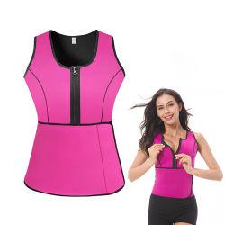 Best Selling Sweat Vest Waist Trainer for Women, Weight Loss Neopreen Waist Slimming Corset with Adjustable Strap, dames Fitness Waist Tummy trimmer Cincher