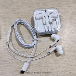 高品質のワイヤタイプ C イヤホンイヤホンモバイル用ヘッドフォン 電話
