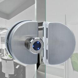 Porte en verre de sécurité en acier inoxydable d'empreintes digitales du matériel de verrouillage Smart électrique