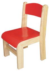 Hölzerner Stuhl für Kinder mit der Bescheinigung En1729-1 u. En1729-2 genehmigt (festes Holz 80515-80517)