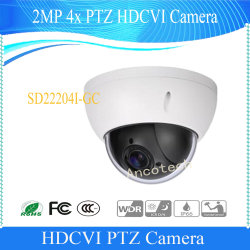 Dahua 2MP 4X PTZ CCTV Digital PTZ waterdichte beveiliging voor buiten Speed Dome-videocamera (SD22204I-GC)