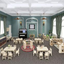 Nordische Art-Serien-Kindergarten-Klassenzimmer-Kind-Kindertagesstätte-Schule-hölzerne Möbel-Entwürfe