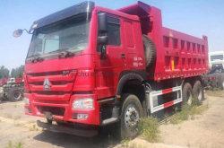 Utilisé en deuxième main Sinotruk HOWO Camion-benne à 336 340 371 375 380 420 benne