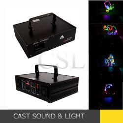 illuminazione del DJ della discoteca del laser di animazione di RGB della fase 1500MW