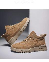 2020 Le travail des hommes chaussures Chaussures daim Sneaker occasionnel des chaussures de mode