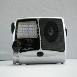 Высокое качество портативный радиоприемник солнечной энергии (HT-858)