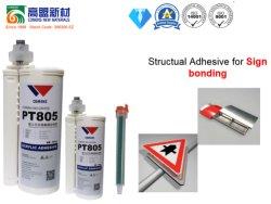 Cola de metacrilato de dois componentes para solução de vedação de estrutura de venda a quente (PT805)