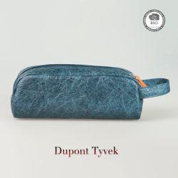Nova chegada Venda Quente DuPont Tyvek Cosmetic bolsa com fecho de correr em caso de escova de maquiagem Cosméticos