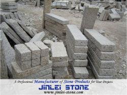 敷石におよび壁およびKerbstone使用する中国の安い花こう岩およびフロアーリングはG603およびG602およびG664およびG654およびG623およびG682好む