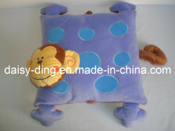 Cuscino peluche per scimmie con forma di animali