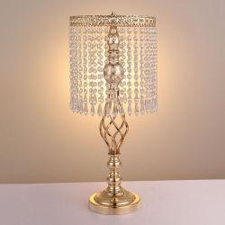 Kristalltisch-Mittelstück-Kerze-Halter-Hochzeits-Tisch-Mittelstück-Vasen Hochzeits-Dekorationen