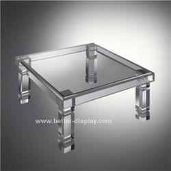 De acryl Organische Lijst van de Thee van het Glas met de Bovenkant van het Glas (btr-Q7001)