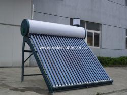 المحلي أنبوب الاتفاق زجاج سخان المياه بالطاقة الشمسية مع انخفاض الضغط