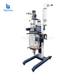 Reattore di vetro chimico automatico dell'impastatrice del laboratorio per l'estrazione