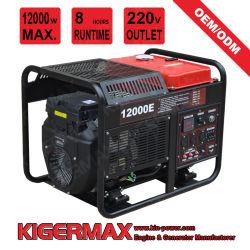 8kW 9KW 10kW 12kw 15kW 電動小型インバータガソリン エンジンポータブルガソリンジェネレータ