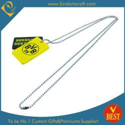 hecho personalizado goma PVC Metal Plástico Moda ID Nombre etiqueta dog tag (KD 458)