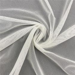Super Macio Branco Nylon Stretch e potência de licra tecido de malha
