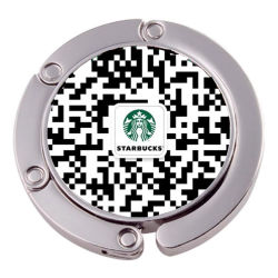 Código QR personalizado colgador de Bolso Bolso Gancho (XS-BH0523)