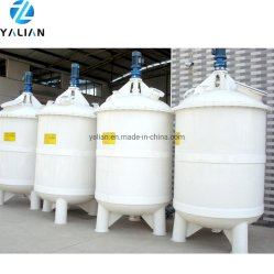 500 لتر مصنع سعر مقاومة للتآكل PVC الخانط سعر البلاستيك خلاط